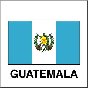 304x304 Clip Art Flags Guatemala Color I Abcteach