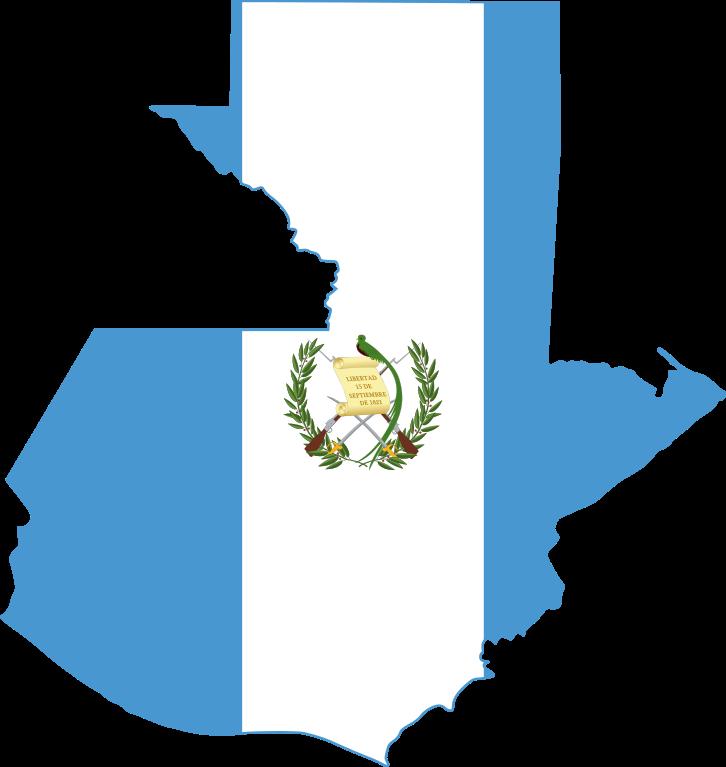 726x767 Fileflag Map Of Guatemala.svg