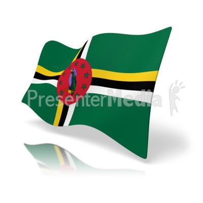 400x400 Flag Dominica