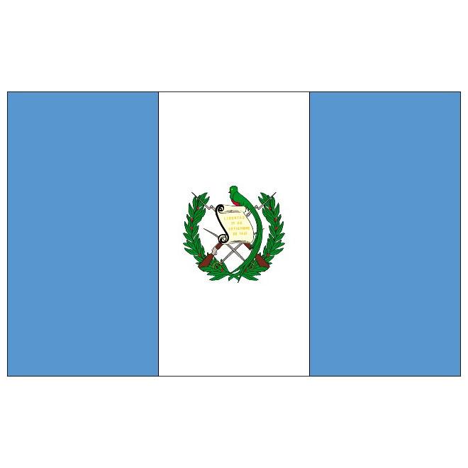 660x660 Guatemala Vector Flag