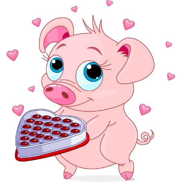 600x600 Best 167 Pig Clip Art Images On Pigs, Little Pigs
