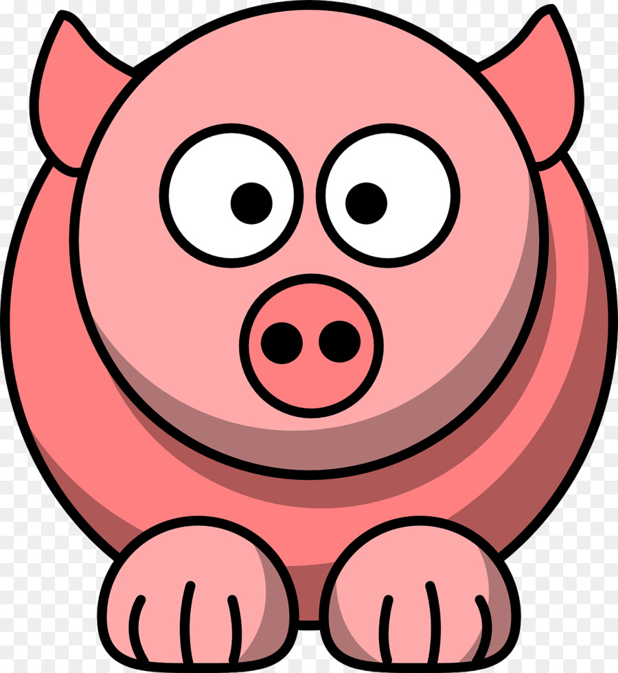 900x980 Pig Stockio Clip Art