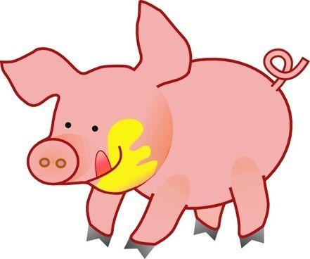 441x368 Luxury Pig Images Clip Art Pig