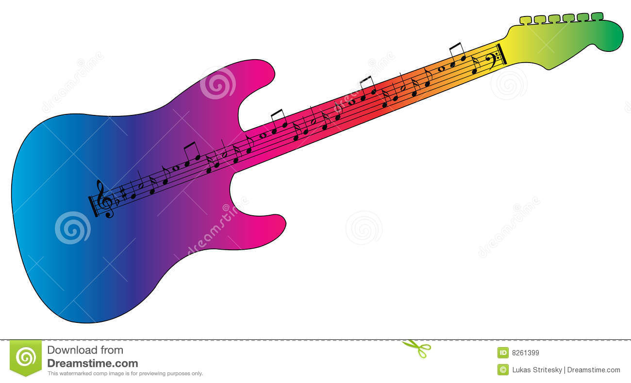 1300x790 Colorful Guitar Clipart Amp Colorful Guitar Clip Art Images