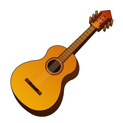 400x400 Guitar Clipart