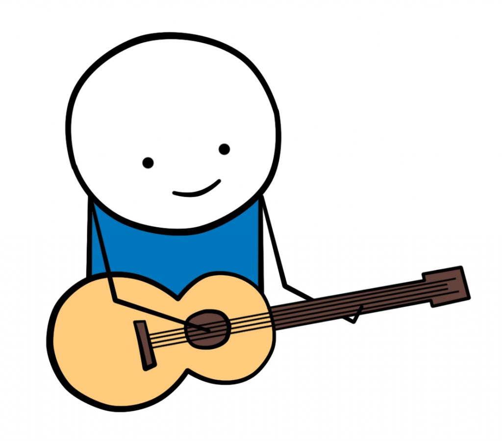 1024x900 Acoustic Guitar Clipart