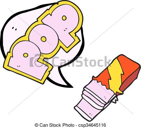 450x411 Freehand Drawn Speech Bubble Cartoon Bubble Gum Vector Clip Art