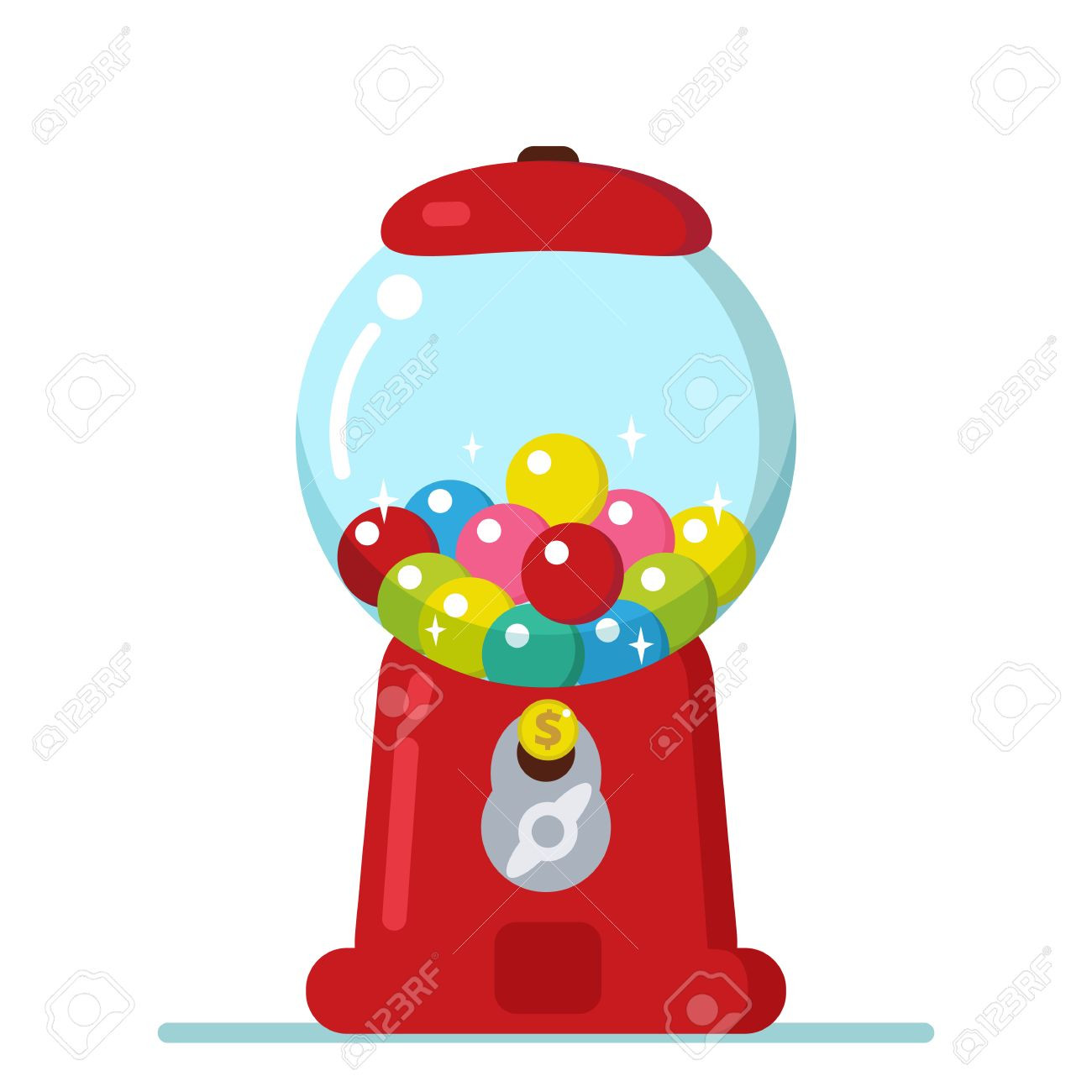 1300x1300 Gumball Machine Cliparts Free Download Clip Art At Bubble Gum