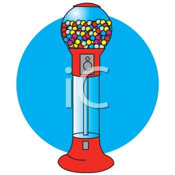 350x350 Cartoon Gumball Machine