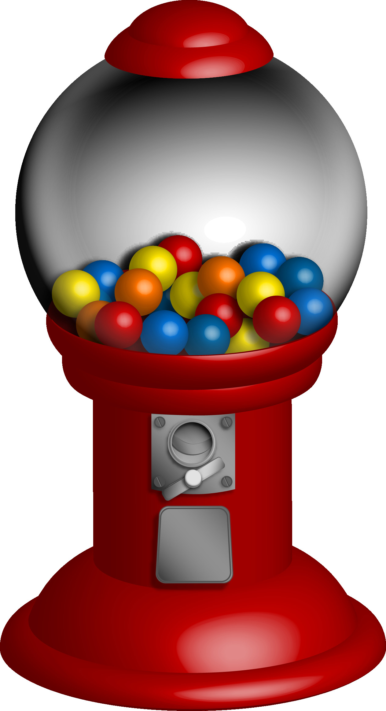 1263x2325 Gumball Clipart Ball 7 On Machine Clip Art For Alluring