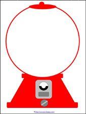 170x225 Gumball Machine Clipart