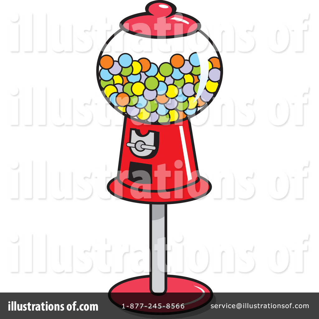 1024x1024 Gumball Machine Clipart
