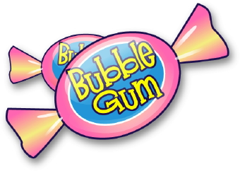 340x242 Image Of Bubble Gum Clipart