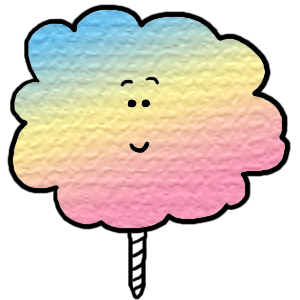 300x300 Cotton Candy Clipart