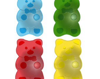 340x270 Gummy Bear Clipart