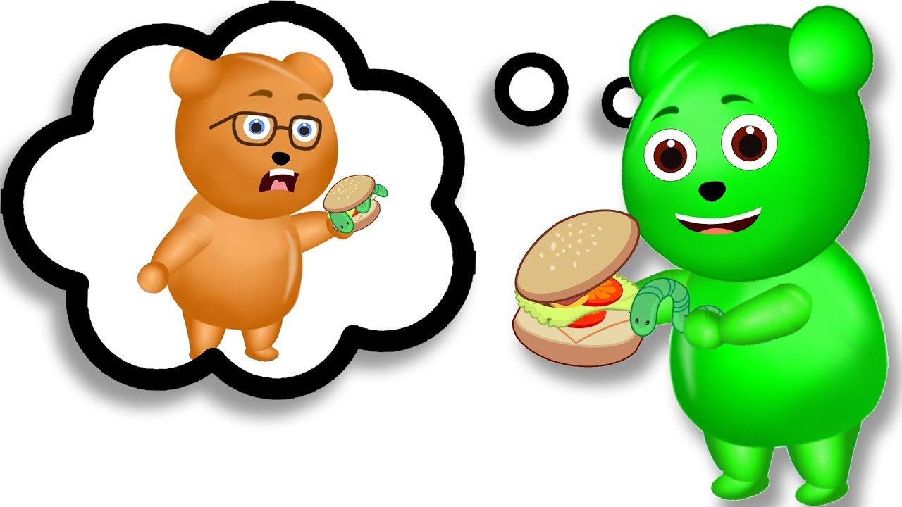 1280x720 Gummy Bear Clipart Happy