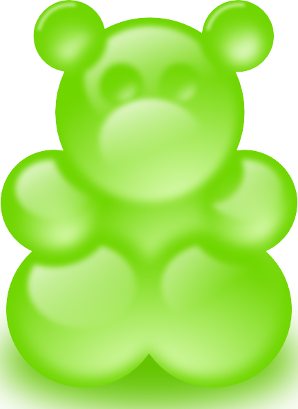 432x593 Gummy Bear Sort Of Clip Art Free Vector 4vector