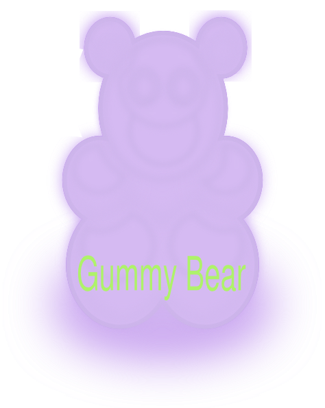 474x595 Green Gummy Bear Clipart