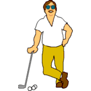 300x300 Free Golf Clipart Images Clipartmonk