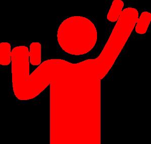 299x285 Red Gym Clip Art Clipart Panda