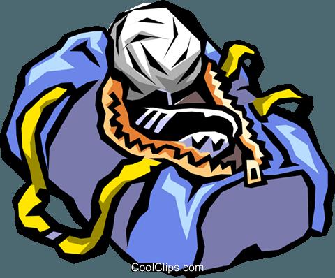 480x398 Gym Bag Royalty Free Vector Clip Art Illustration Spor0239