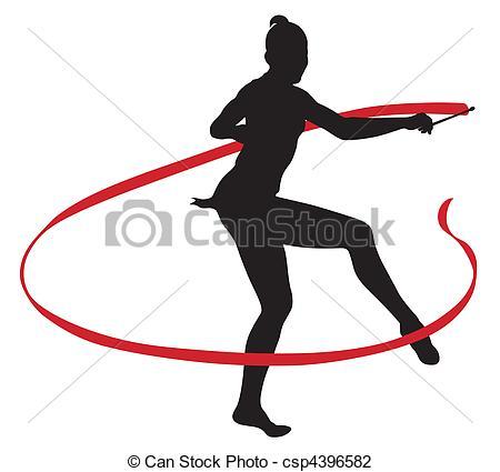 450x425 Rhythmic Gymnastics Clipart 101 Clip Art
