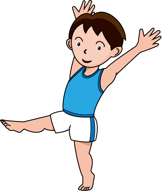 539x633 Gymnastic Birthday Clip Art