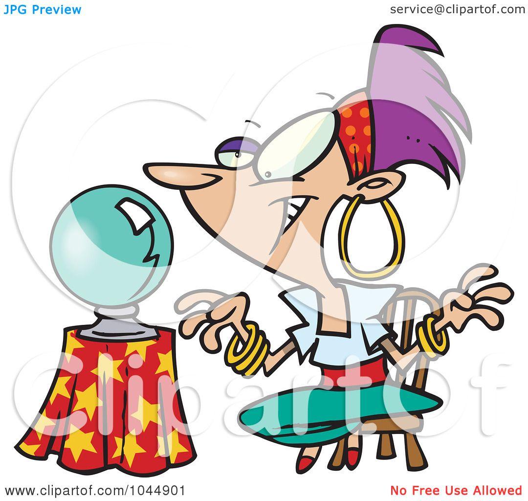 1080x1024 Royalty Free (Rf) Clip Art Illustration Of A Cartoon Female Gypsy