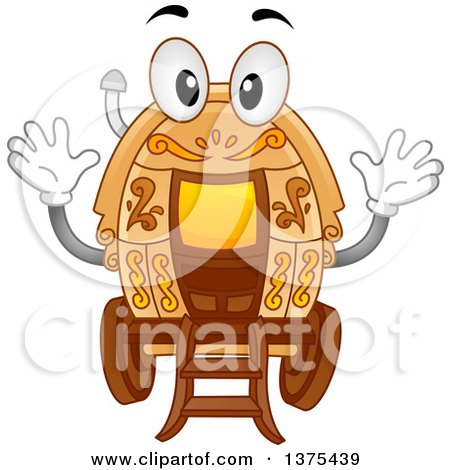 450x470 Royalty Free (Rf) Clipart Illustration Of A Young Gypsy Telling