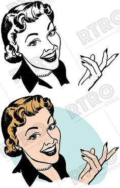 236x371 Woman Visits A Gypsy Fortune Teller Vintage Retro Clip Art Clipart