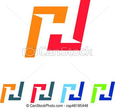 450x422 An Amazing Letter H Symbol Design Eps Vector