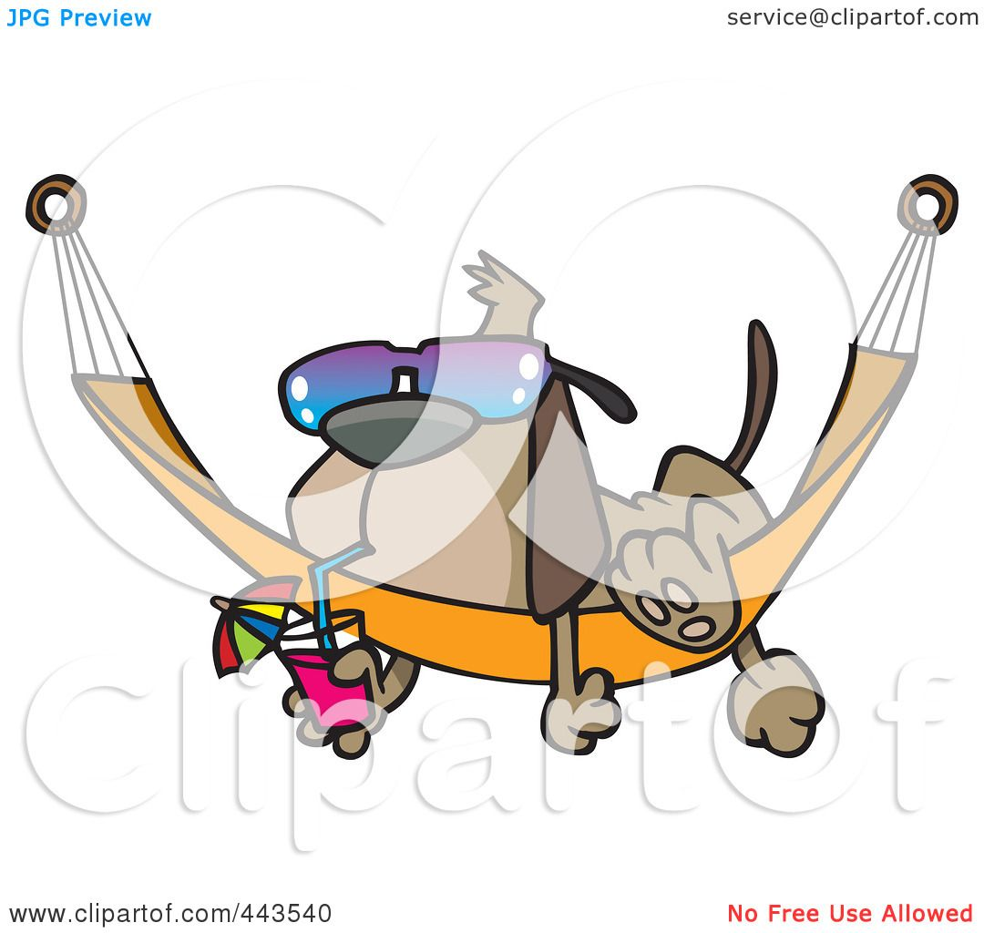 1080x1024 Royalty Free (Rf) Clip Art Illustration Of A Cartoon Dog Lounging