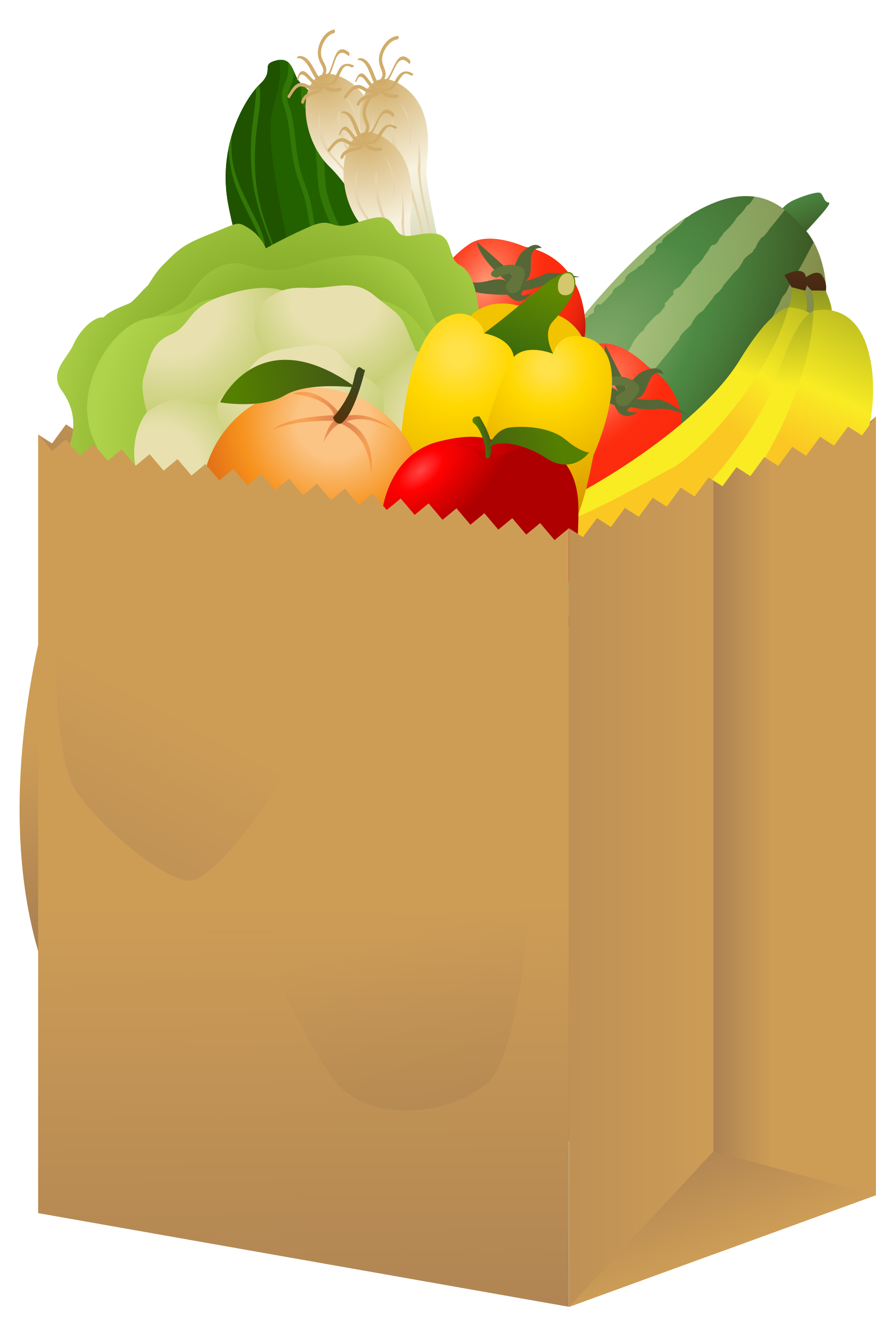 1875x2795 Bag Clipart Grocery Store