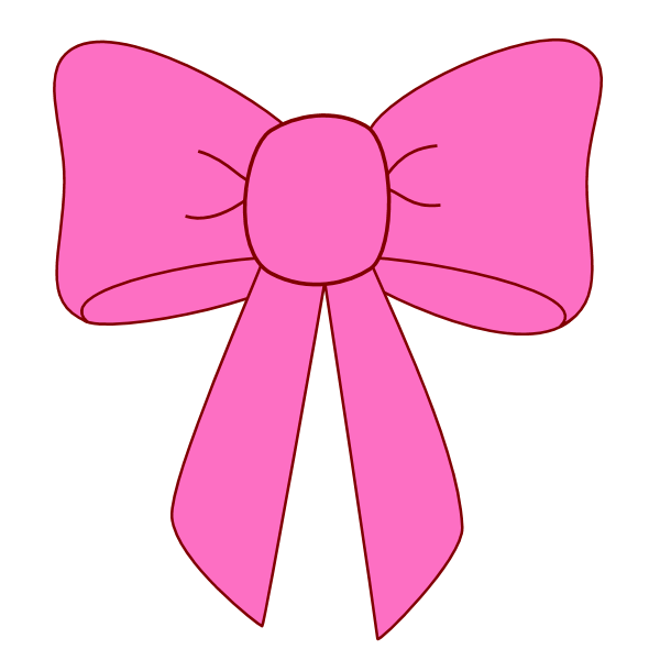 600x600 Image Of Hair Bow Clip Art