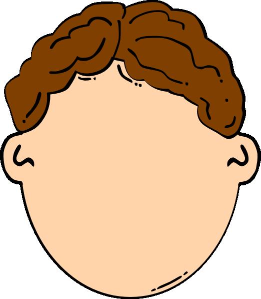 522x597 Hair Clipart Brown Hair Boy Clip Art