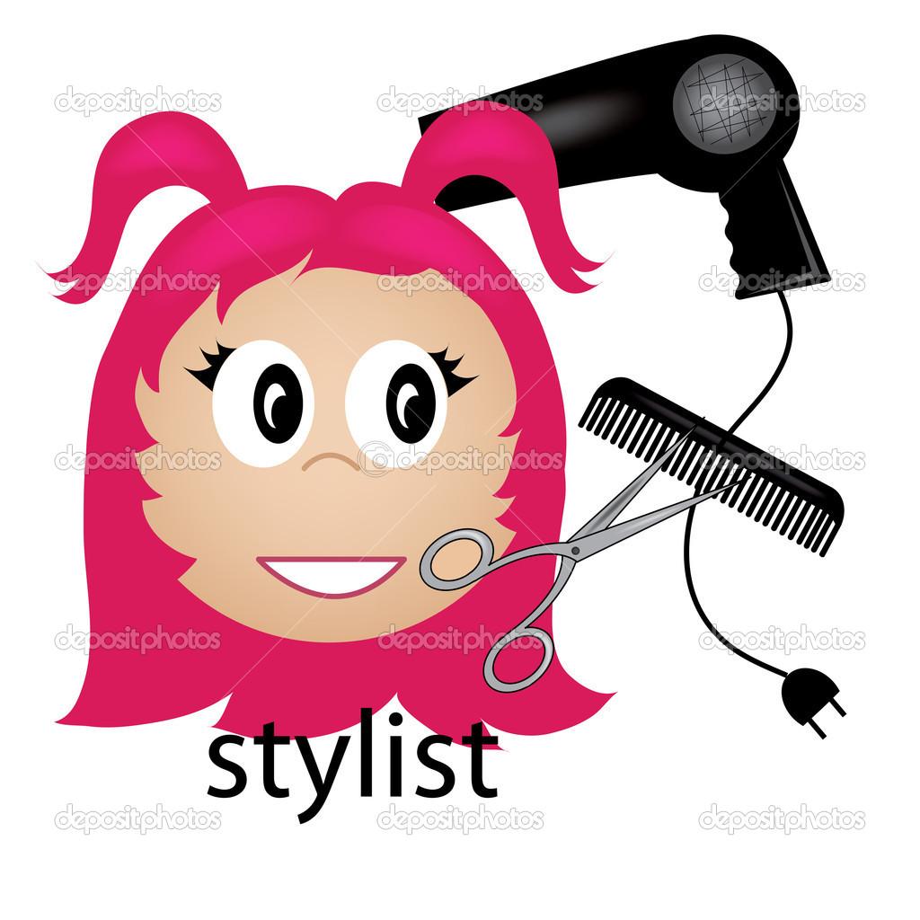 1024x1024 Clip Art Hair Dresser Clip Art