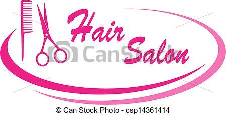 450x230 Clipart Of Hair Salon Sign Clipart Panda