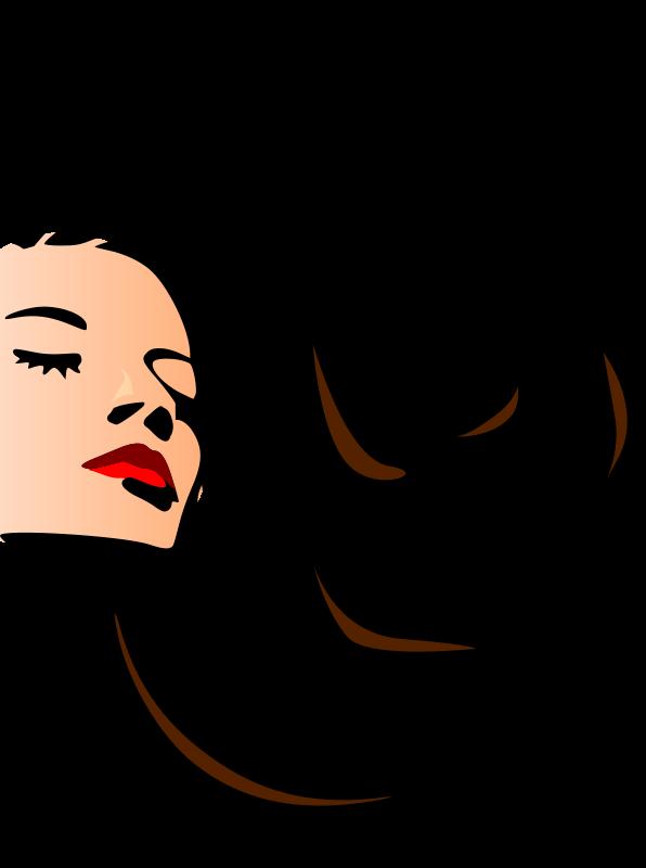 596x800 Hair Salon Clip Art Png