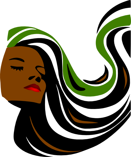 498x599 Revamp Hair Salon Clip Art