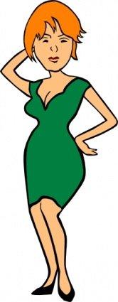 166x425 Free Woman Bob Haircut Clipart And Vector Graphics