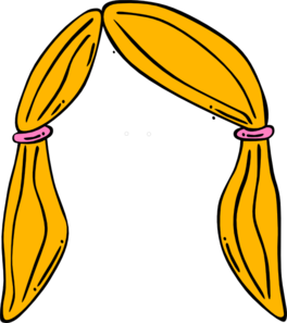 264x297 Blonde Hair Clipart Clipart Panda