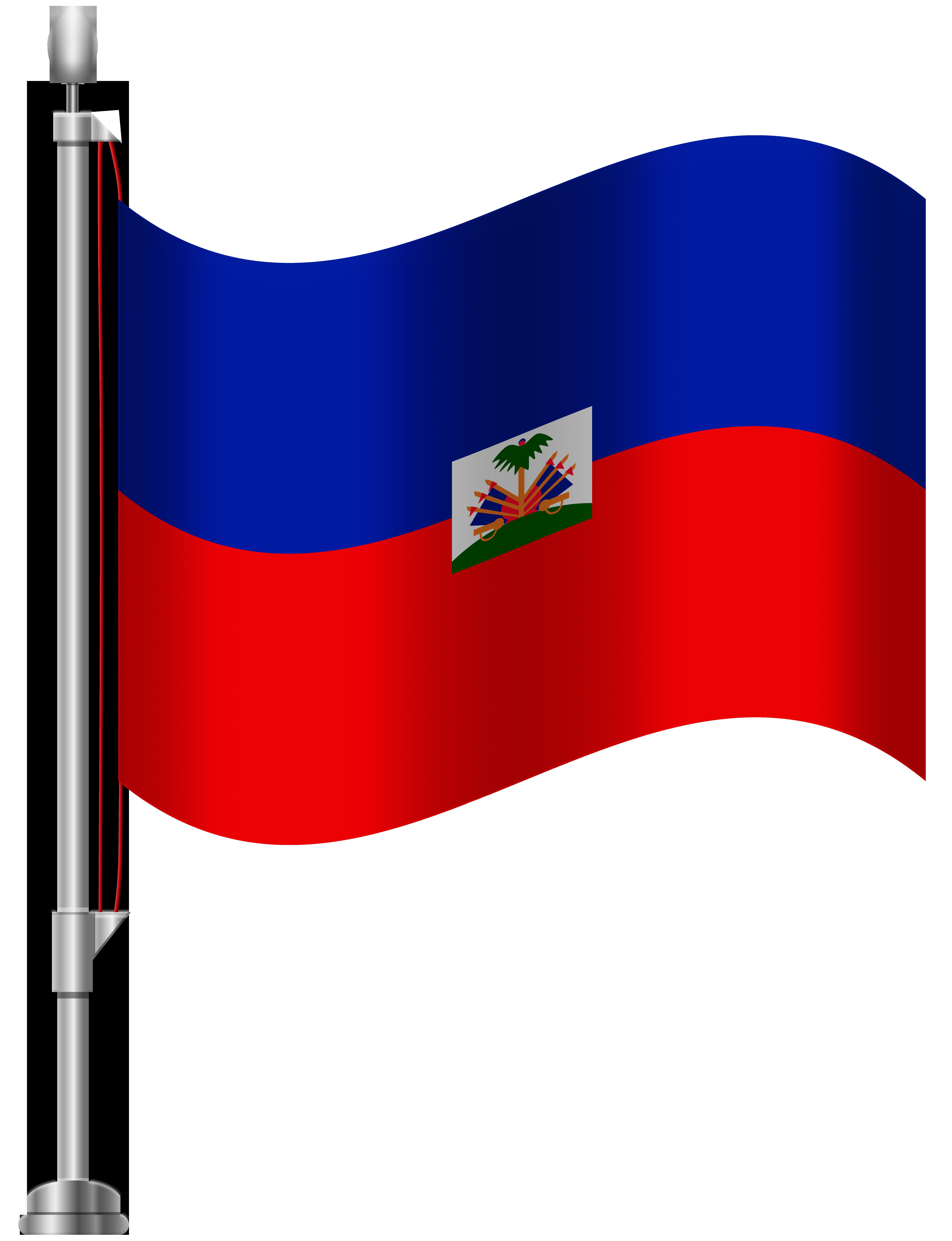 6141x8000 Haiti Flag Png Clip Art
