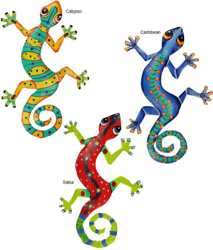 680x800 Haitian Folk Art Gecko Wall Art Arte Geckos, Folk