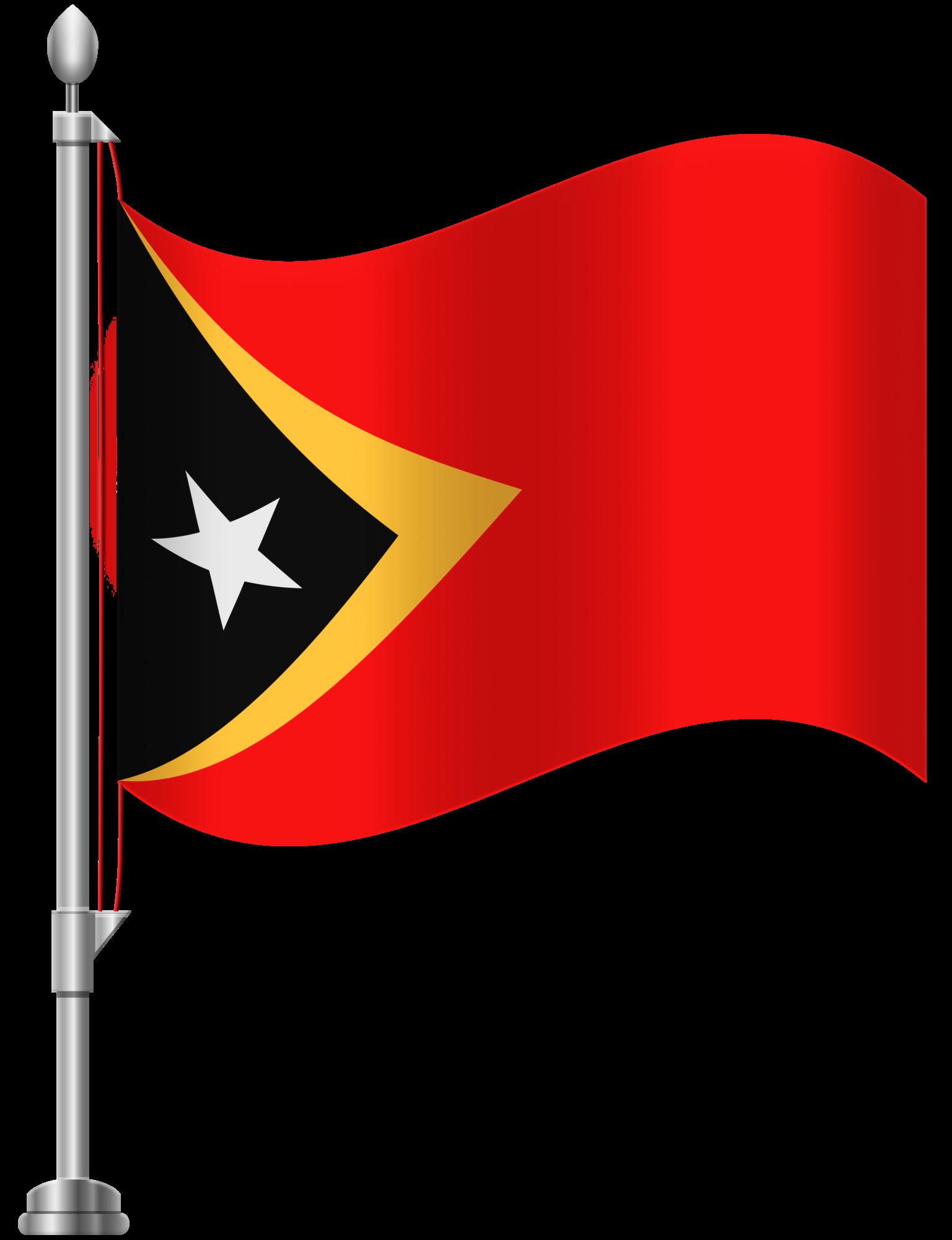 1536x2000 Timor Leste Flag Png Clip Art