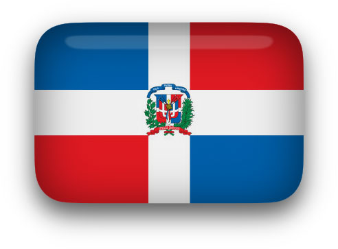 492x363 Free Animated Dominican Republic Flags
