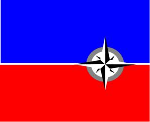 298x243 Haiti Dept. Flag Clip Art