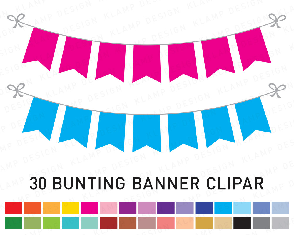 1000x800 Bunting Banners Clipart Banner Flag Clipart Party Bunting