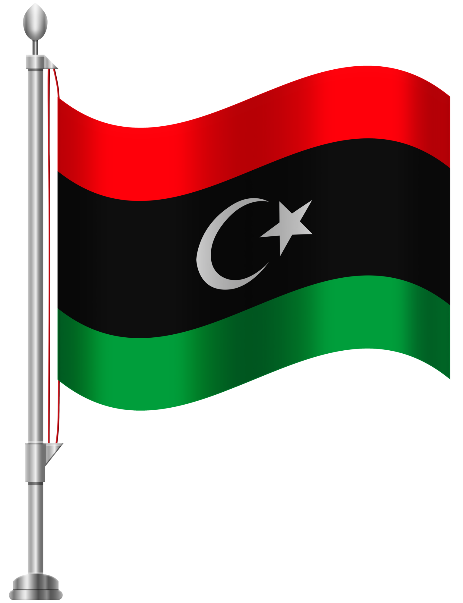 1536x2000 Libya Flag Png Clip Art