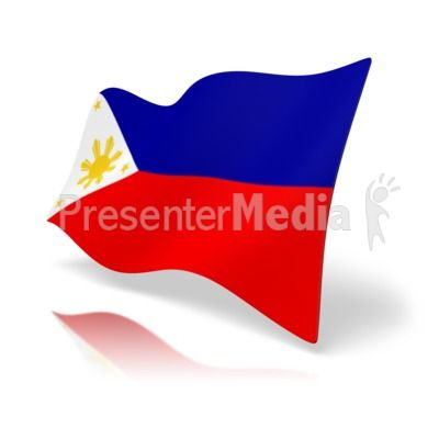 400x400 This Clip Art Image Shows The Philippines Flag