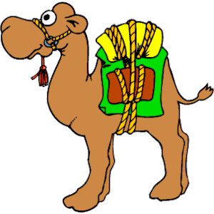 300x300 People Camels Clipart